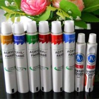 Hot sale aluminum pigment tube packaging