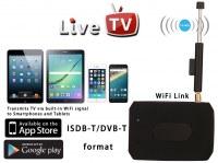 Mobile DVBT Digital TV Box DVB-T Wifi ISDB-T DTV Lien en direct dans le tuner TV récept...