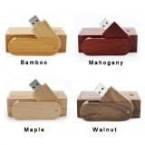 Mémoire en bois de flash USB d'émerillon fait sur commande pour la promotion Caractéris...