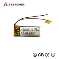 High quality 401230 3.7v 120 mah lipo battery for Bluetooth earphones