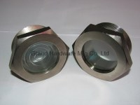 Steel Sintered Sight Glass Nickel plated