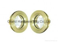 Circular Brass Oil Sight Glass