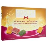 30 PÂTES DE FRUITS AROMATISÉES - ESPRIT DE FÊTE - 375GR