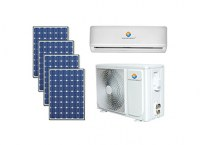 DC48V 100% Solar Air Conditioner ( Off Grid Working )