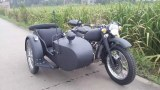 Customized German Grey Color 750cc Motorcycle Sidecar