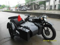 Changjiang 750CC blake motorcycle with sidecar