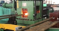 Easy operation tubular upsetting press for Upset Forging of drill rod