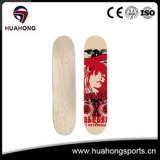 HD-S04 HUAHONG Wholesale Canadian Maple Wooden Skateboard Decks