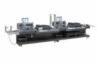 Fully Automatic Two-colors Silk Screen Label Printing Machine