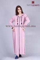Djellaba de luxe marocaine
