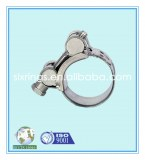 Galvanized Steel Yellow Heavy Duty Hose Clamp With Hollow Trunnion T Screw (Various Sizes)