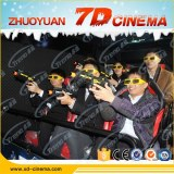 7d Interactive Motion Cinema with Shooting Guns Hydraulic CE amusement park