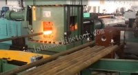 Low scrap rate drill pipe prodution line for Upset Forging of oil pipe end