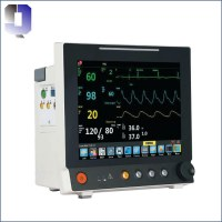 JQ-6307 Plus ICU salle capnographe portable etco2 patient moniteur hôpital moniteur car...