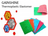 Wearable Thermoplastic Elastomer for Shiatsu Sheet