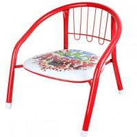 Chaises métallique Angry Birds 36x35x36