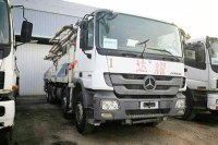 6 Section Boom Concrete Pump Truck