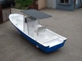 Liya usine chinoise fibre de verre bateau de pêche 420-760