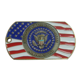 USAF Engraved Military Dog Tags