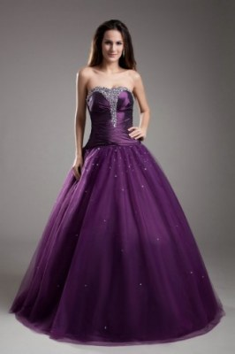 Purple Quinceanera Dresses
