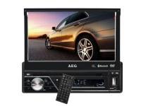 "Autoradio AR 4026 AEG avec écran tactile de 7""avec Bluetooth et port USB"