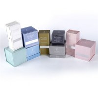 Design Cosmetic Brands Style Luxury Cosmetic Packaging Box Magnetic Closure Box For Cos...