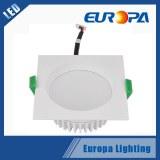 Rectangulaire LED Downlight prix de 7W pour le marché européen