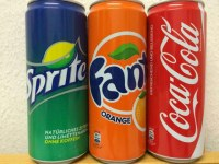 Fanta, Coca-cola,Pepsi, Sprite, 7up, Miranda Orange,schweppes