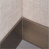 Stainless steel baseboard rose gold skirting baseboard for decoration