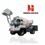 Self Loading Mobile Concrete Mixer 1.5m3 & 3m3