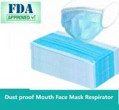 Masque facial 3 plis contre les virus