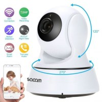 IP Kamera 1080P HD WiFi Security Camera With Audio, IOS/Android App, Pan, Tilt, Zoom,...