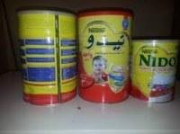Red Cap Nido Milk Powder Arabic and EnglishText