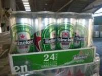 Dutch Heineken cans and bottles