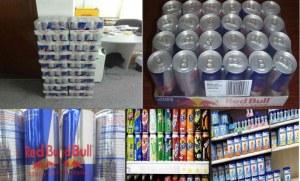 Les boissons énergisantes de Red Bull, les boissons énergisantes de Red Bull autrichien...