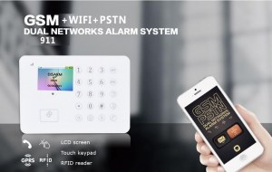 Best home wireless burglar alarm systems with temperature and humidity display