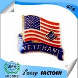 Factory custom Masonic badge lapel pin