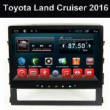 Toyota Land Cruiser 2016 Système DVD de voiture GPS Android Lecteur Quad Core