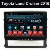 Android OEM gros lecteur DVD pour voiture Toyota Land Cruiser 2016 Big Screen