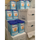 Aptamil baby milk powder.