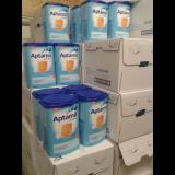 Aptamil baby milk powder.