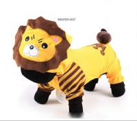 Lion Quadricrural Pet Clothes:AR-109