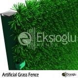 Clôture en herbe