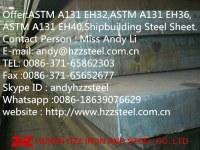 Offer:ASTM A131 EH32,ASTM A131 EH36,ASTM A131 EH40,Shipbuilding Steel Sheet.