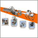 Machine à coudre sac filtre automatique