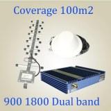 24dBm 900 1800 Dual Band Signal Booster MGC AGC ALC