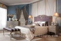 Enfoncez le lit en bois FB-108 de meubles de lit de lit de roi de lit de chambre à couc...