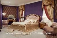 Support classique FB-128 de nuit de style de lit en bois solide de Kingbed de chambre...