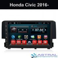 Best Auto Radio Système de navigation GPS Wholesale Honda Civic 2016 2017