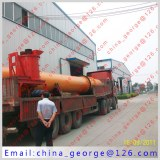 Large capacity hot sale nickel rotary kiln sold to Gazly